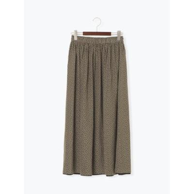 サテンリバーシブルスカート