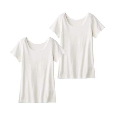 ベルメゾン-インナーシャツ-綿100-ジュニアインナー-オフホワイト(リボンなし)