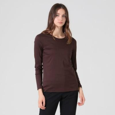 【The Essential Collection】 スーピマコットン長袖Tシャツ