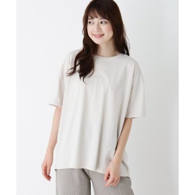 SHOO・LA・RUE / シューラルー 【M-LL】バックツイストオープンTシャツ