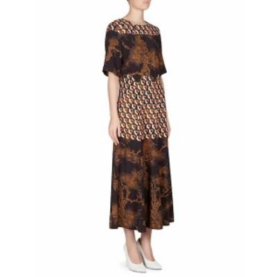ドライズヴァンノーテン レディース ワンピース Paneled Patterned Dress