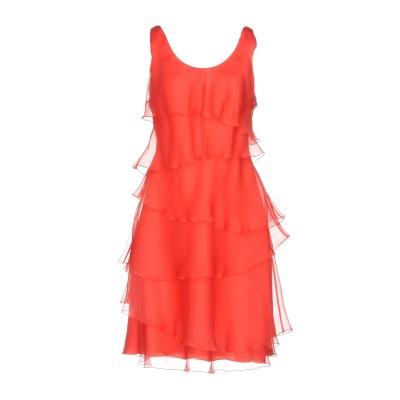 アルマーニ コレッツィオーニ ARMANI COLLEZIONI ミニワンピース&ドレス コーラル 40 シルク 100% ミニワンピース&ドレス