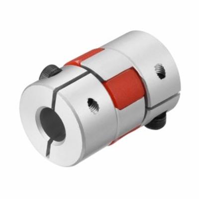 uxcell ユニバーサルジョイント フレキシブルカップリングジョイント シャフトカップリング 6mmへボア8mm サーボモータ用 30×20mm