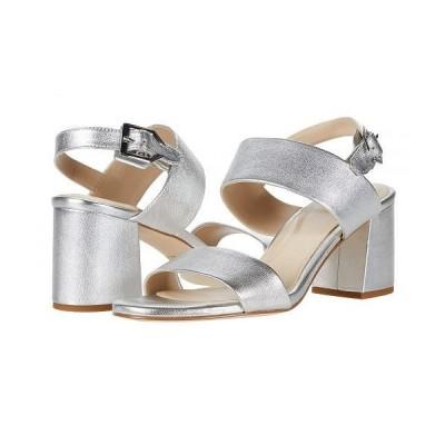 Cole Haan コールハーン レディース 女性用 シューズ 靴 ヒール 65 mm G.OS Avani City Sandal - Silver Metallic Leather