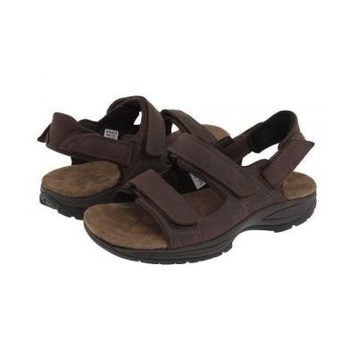 Dunham ダナム メンズ 男性用 シューズ 靴 サンダル St. Johnsbury - Brown Leather