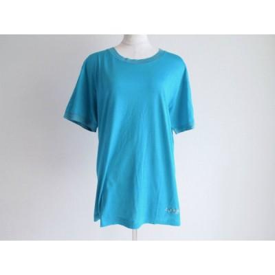 #snc ミッソーニ MISSONI Tシャツ カットソー 半袖 青 ターコイズブルー 刺繍 レディース [592045]