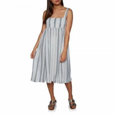 ボルコム Volcom レディース ワンピース ワンピース・ドレス Da Boom Stripe Dress White/Combo