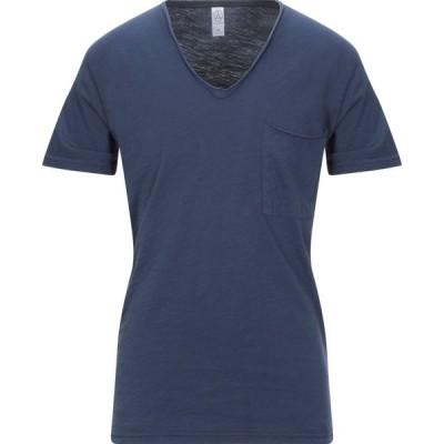 オルタナティヴ ALTERNATIVE メンズ Tシャツ トップス t-shirt Dark blue