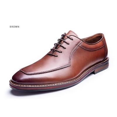 ビジネスシューズ 紳士靴 メンズ 革靴 スワールモカ サドルシューズ 本革