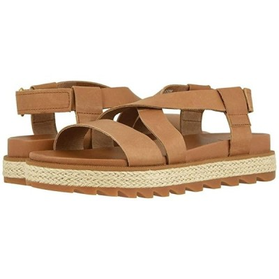 ソレル Roaming Crisscross Sandal Jute レディース サンダル Camel Brown
