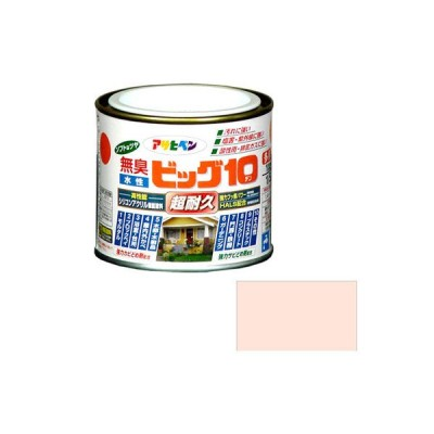 アサヒペン 水性ビッグ10 多用途 1/5L 211 ピンク