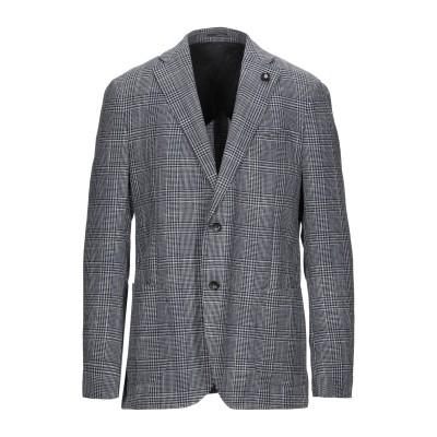 ラルディーニ LARDINI テーラードジャケット ダークブルー 54 ウール 85% / シルク 15% テーラードジャケット