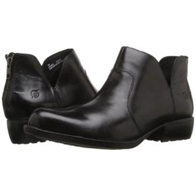 ボーン レディース ブーツ&レインブーツ シューズ Kerri Black Full Grain Leather