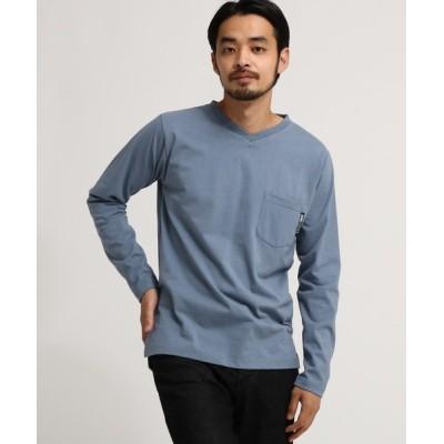 BASESTATION / 長袖 Tシャツ Vネック WEB限定 MEN トップス > Tシャツ/カットソー