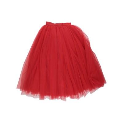 ドルチェ & ガッバーナ DOLCE & GABBANA 7分丈スカート レッド 38 ナイロン 100% 7分丈スカート