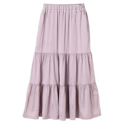 Green Parks / ・novem 9 ヴィンテージサテンスカート*★ WOMEN スカート > スカート