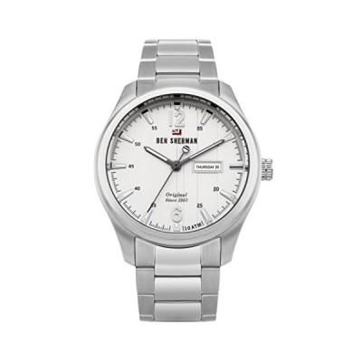 Ben Sherman Men's Analog Quartz Watch with Stainless-Steel Strap WBS105SM 並行輸入品
