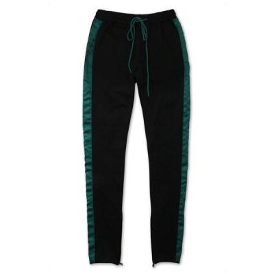 ケーディーエヌケー KDNK DOUBLE STRIPE TRACK PANT パンツ BLACK/GREEN/RED ブラック/グリーン/レッド PANTS XLサイズ