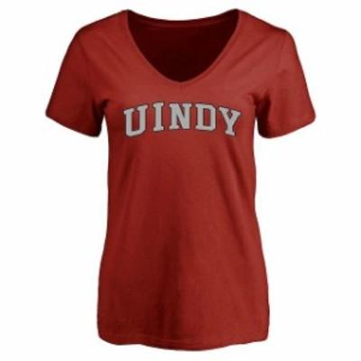 Fanatics Branded ファナティクス ブランド スポーツ用品  Indianapolis Greyhounds Womens Cardinal Everyday T-Shirt
