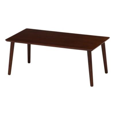 突板ローテーブル 8040 ブラウン WD804BR fj-10864