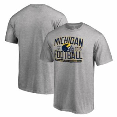 Fanatics Branded ファナティクス ブランド スポーツ用品  Fanatics Branded Michigan Wolverines Heather Gray 2016 Orange Bowl Bound