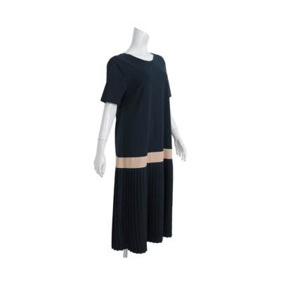 MARTHA(マーサ)プリーツスカートドッキングワンピース (ワンピース)Dress