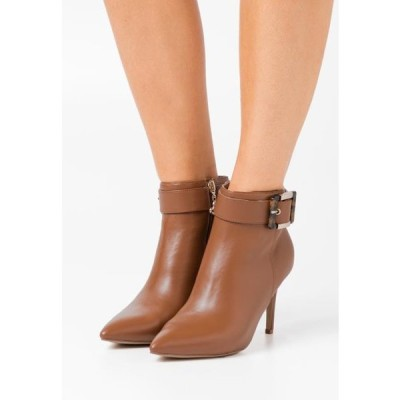 レディース ブーツ JULIET - High heeled ankle boots - tan