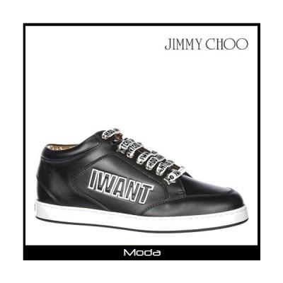 ジミーチュウ スニーカー レディース 黒 ブラック Jimmy Choo 靴