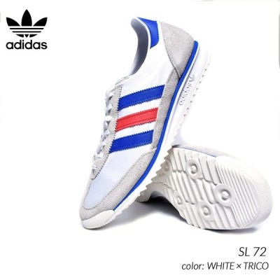 adidas SL 72 WHITE × TRICO アディダス エスエル スニーカー ( 白 赤 青 トリコロール メンズ FV4430 )
