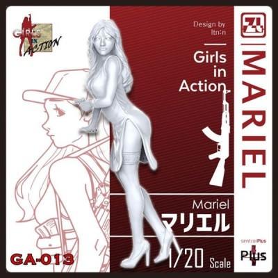トリファクトリー (再生産)1/ 20 ガールズインアクションシリーズ マリエル(GA-013)プラモデル 返品種別B