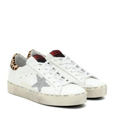 ゴールデン グース Golden Goose レディース スニーカー シューズ・靴 Hi Star leather sneakers MYT/White Leather/Leo Pony/Cry