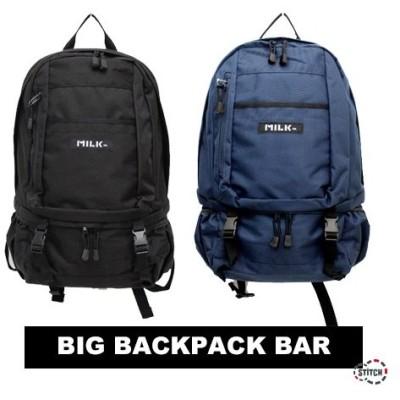 【正規販売店】MILKFED. ミルクフェド BIG BACKPACK BAR   03164033 バックパック リュック デイパック レディース