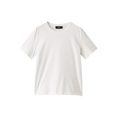 THE RERACS ザ・リラクス ベーシックTシャツ レディース オフホワイト 36