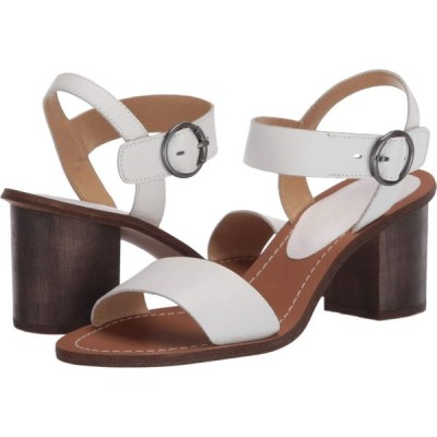 スプレンディッド Splendid レディース サンダル・ミュール シューズ・靴 Adam White Tumbled Leather