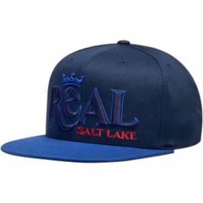 Mitchell & Ness ミッチェル アンド ネス スポーツ用品  Mitchell & Ness Real Salt Lake Blue Wordmark Flex Adjustabl
