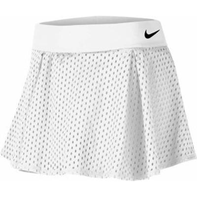 ナイキ レディース スカート ボトムス Nike Women's Flouncy Tennis Skirt White