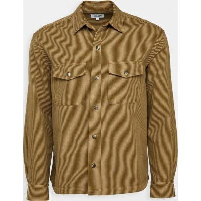 (取寄)ケンゾー メンズ ツイル オーバーシャツ KENZO Men's Twill Overshirt DarkBeige