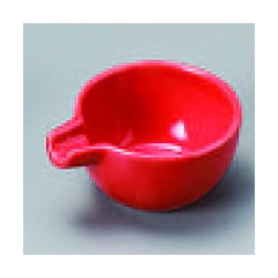 赤釉片口珍味 124-39-074