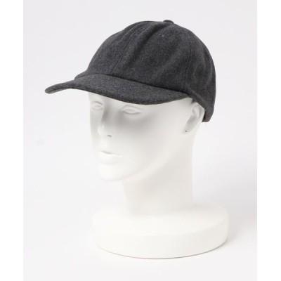 帽子 キャップ 【W】【it】【BIG ACCESSORIES】WOOL BASEBALL CAP