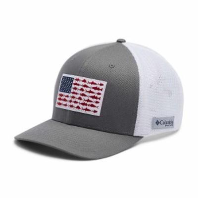 コロンビア Columbia ユニセックス キャップ 帽子 PFG Mesh Ball Cap XXL Titanium/White
