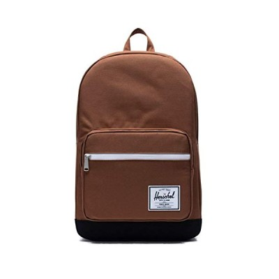Herschel Pop Quiz Backpack, Saddle Brown/Black, Classic 22L 並行輸入品