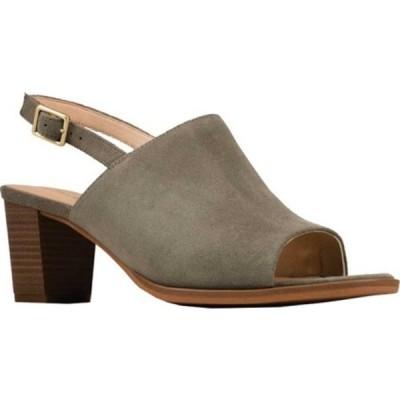 クラークス サンダル シューズ レディース Kaylin60 Slingback Sandal (Women's) Sage Suede