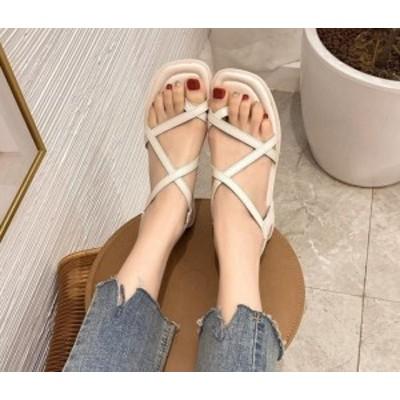 靴 夏新作/サンダル/シンプル/カワイ/ファッション