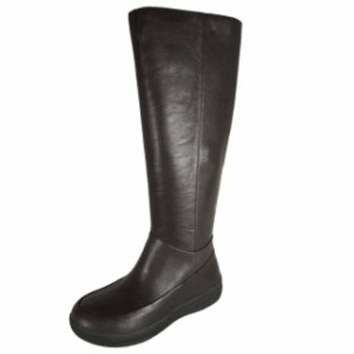 FitFlop フィットフロップ シューズ ブーツ Fitflop womens FF-lux full zip up knee boots leather shoe