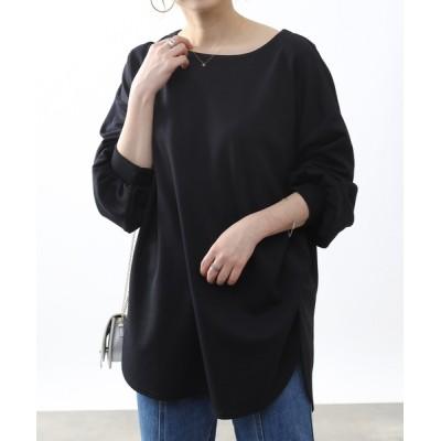 COLONY 2139 / 【抗菌/抗ウイルス】ポンチボリューム袖ロンT WOMEN トップス > Tシャツ/カットソー