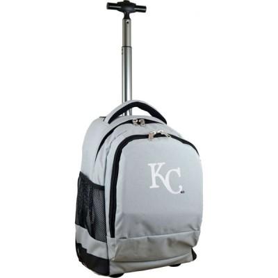 モジョ Mojo Licensing ユニセックス スーツケース・キャリーバッグ バッグ Mojo Kansas City Royals Wheeled Premium Grey Backpack