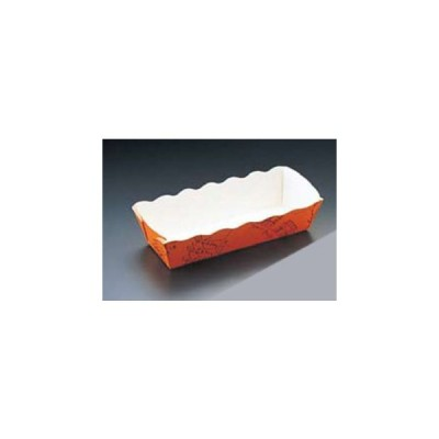 TEMMA/天満紙器  ベーキングトレー イングランド柄長方型 BT−101−L (50枚入)