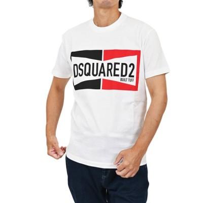 ディースクエアード 半袖 Tシャツ DSQUARED2 S71GD0981 S22427 100 ホワイト メンズ