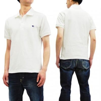 フェローズ ポロシャツ Pherrow's 定番 プレーン半袖ポロ PPS1 オフ白 新品
