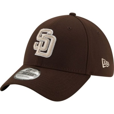 ニューエラ New Era メンズ キャップ 帽子 San Diego Padres Brown 39Thirty Stretch Fit Hat
